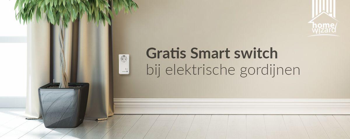 Gratis Smart Switch bij elektrische gordijnen