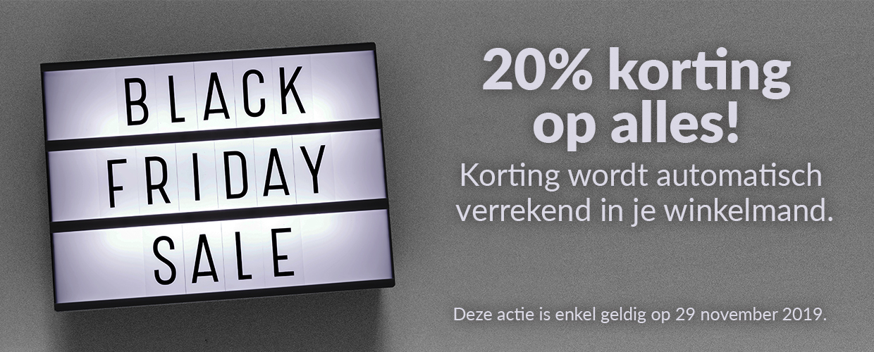 Black Friday bij HomeWizard - 2019